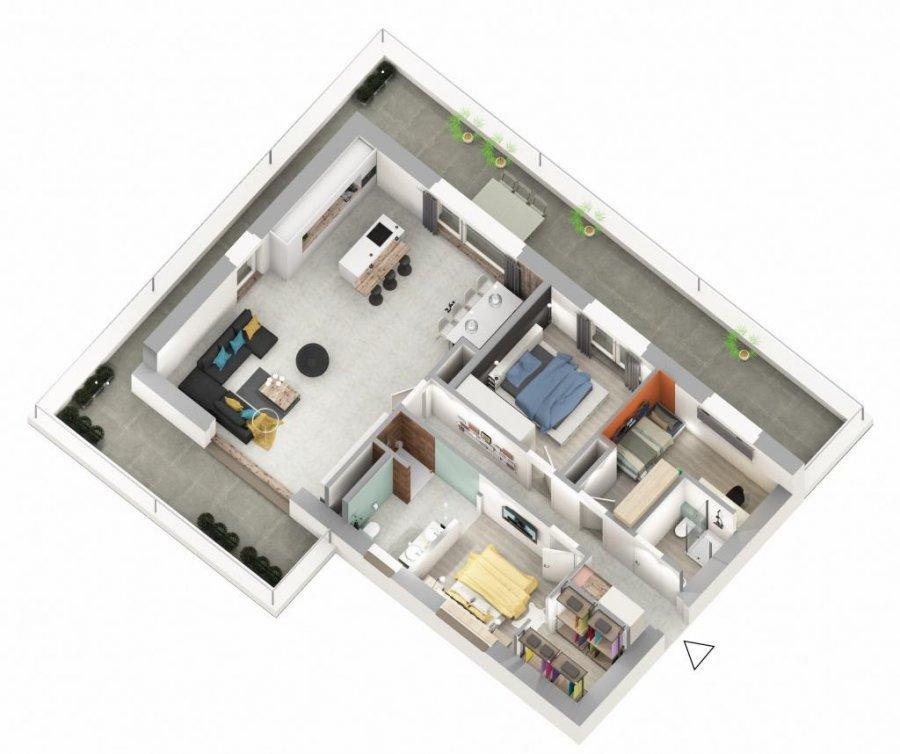 acheter appartement 3 chambres 115.38 m² ettelbruck photo 5