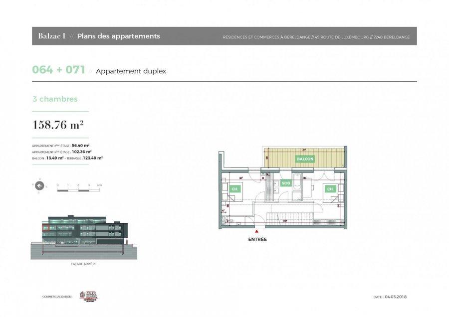 acheter penthouse 3 chambres 0 m² bereldange photo 3