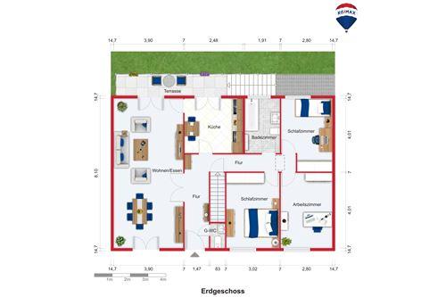haus kaufen 4 zimmer 94 m² überherrn foto 4