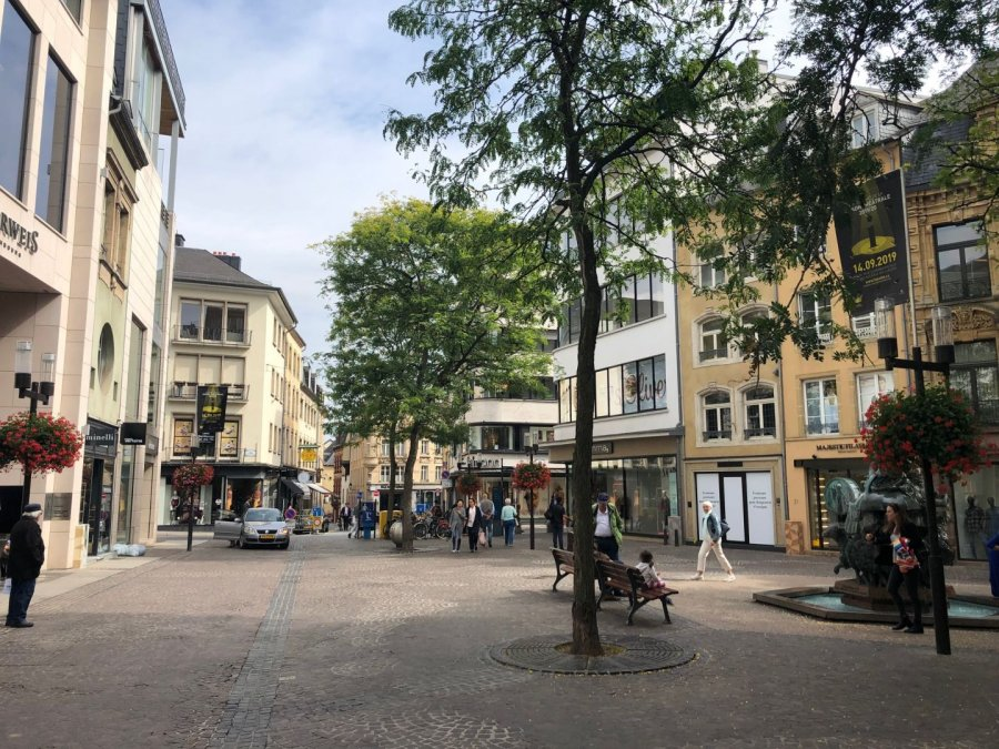 louer local commercial 0 chambre 90 m² luxembourg photo 1
