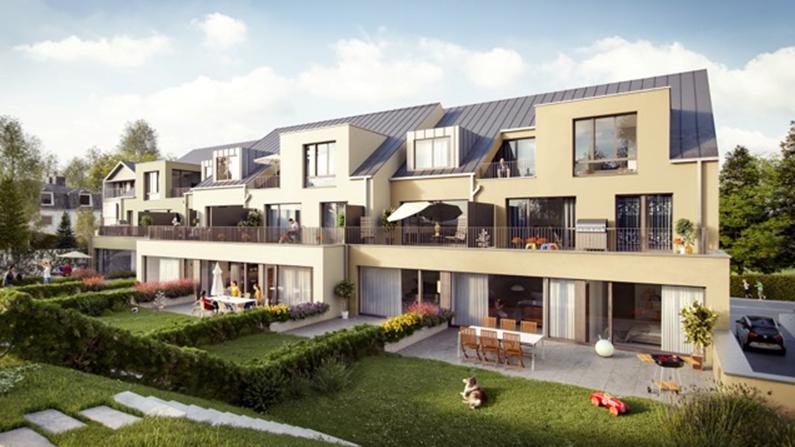acheter résidence 0 chambre 53.68 à 121.56 m² bofferdange photo 1