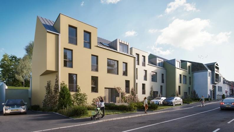 acheter résidence 0 chambre 53.68 à 121.56 m² bofferdange photo 2
