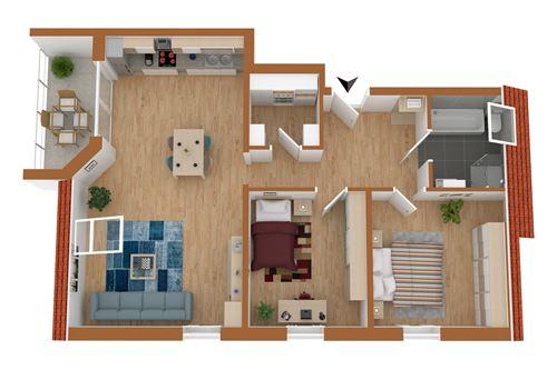 acheter appartement 3 pièces 79 m² saarburg photo 2
