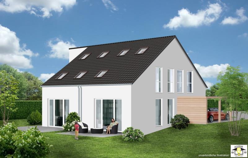 doppelhaushälfte kaufen 5 zimmer 136.5 m² pluwig foto 6