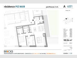 Penthouse à vendre 2 Chambres à Luxembourg-Gasperich - Réf. 4847258