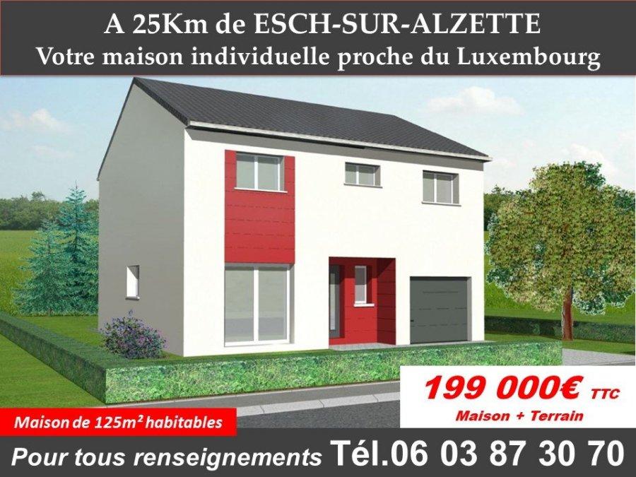 acheter maison 6 pièces 124 m² aumetz photo 1
