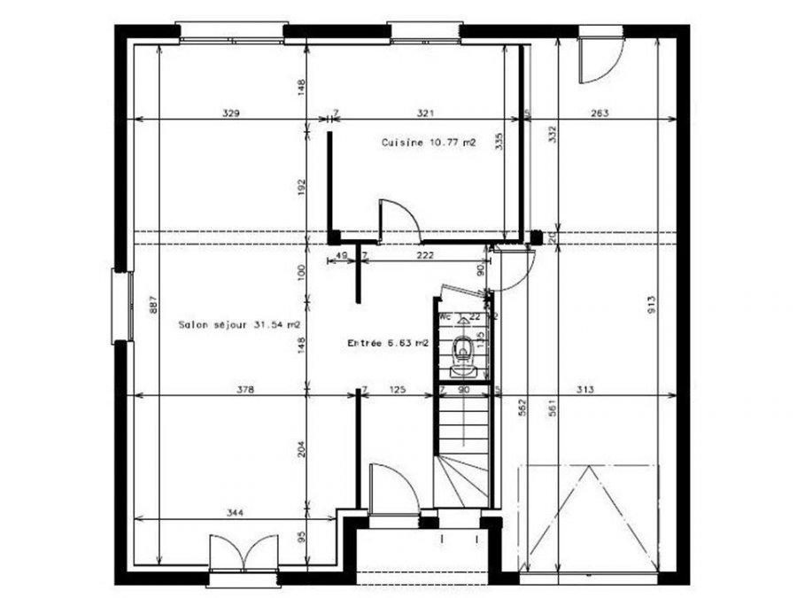 acheter maison 6 pièces 124 m² aumetz photo 3