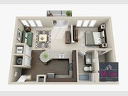 Apartment for rent 1 bedroom in Esch-sur-Alzette - Ref. 6679706