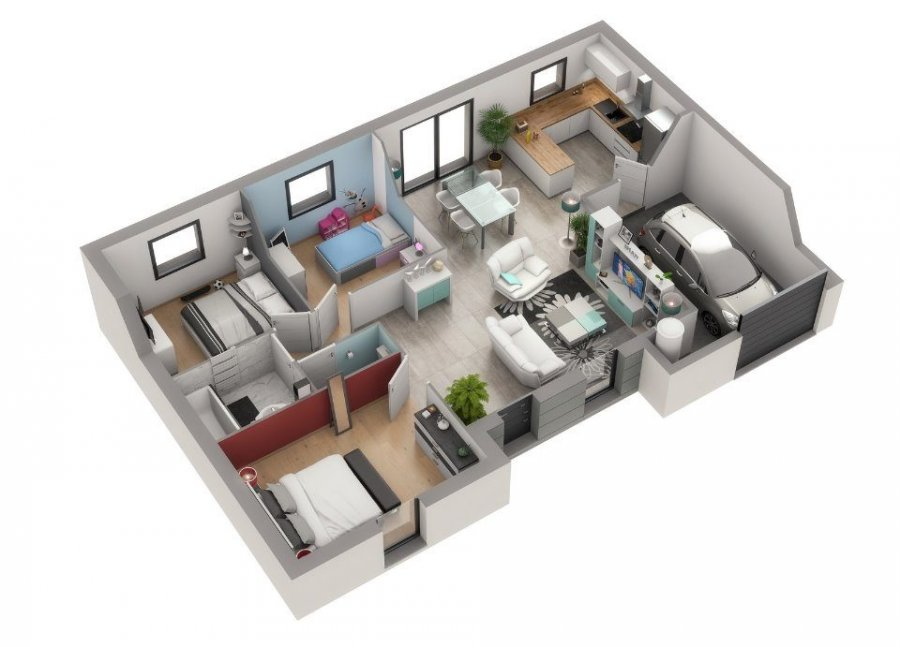 acheter maison 5 pièces 89 m² condé-northen photo 7