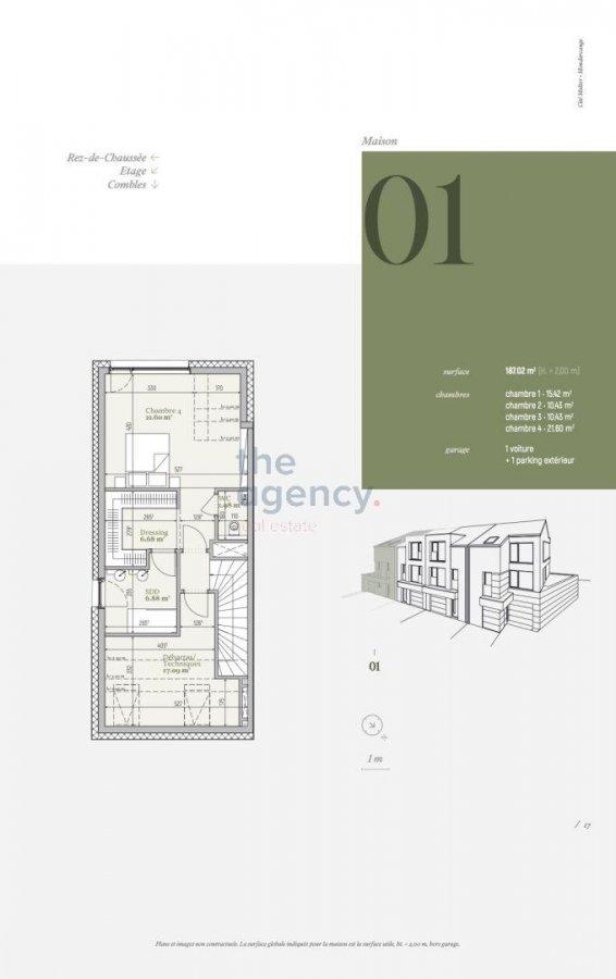 acheter résidence 0 chambre 94.83 à 187.02 m² mondercange photo 6
