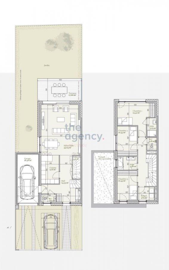 acheter résidence 0 chambre 94.83 à 187.02 m² mondercange photo 7