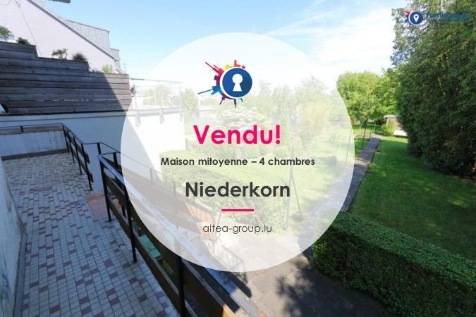 acheter maison mitoyenne 4 chambres 130 m² niederkorn photo 1