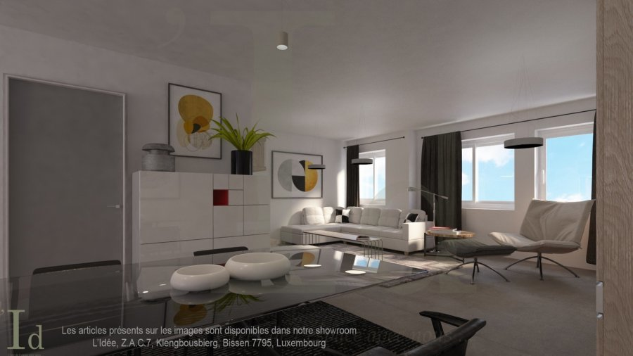 aison en état future construction à HOBSCHEID  Découvrez cette maison bifamilialle haut de gamme qui sera érigé dans le quartier du Hobscheid livré clé en mains.  Chaque appartement possède une surface habitable de +-140 m2, avec une entrée commune donnant donnant sur :  Lot B - Droite  Au RDC : garage pour deux voitures, un emplacement extérieur, buanderie, cave et local technique   Au 1er : spacieuse cuisine ouverte donnant vers le séjour/salon de+/- 82,20 m² avec accès sur une terrasse de +/- 20m2 et jardin de +/- 1 ares séparée de par une palissade, un WC séparé  Au 2éme :un hall de nuit desservant 1 salle de bains de 6 m², et 3 grandes chambres, avec l'accès à un balcon de 12 m².  Merci de contacter notre Bureau IMMO NORDSTROOSS pour toute information supplémentaire ou visiter le bien.  À votre disposition Elshan Stiljana GSM: 691 850 805