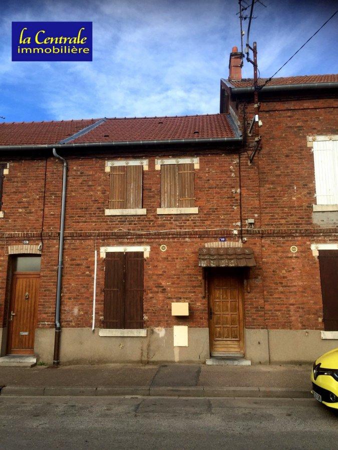 Maison mitoyenne à vendre F4 à Joudreville