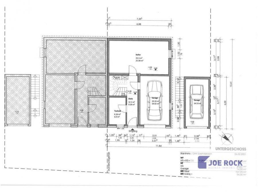 acheter maison jumelée 10 pièces 123.33 m² mettlach photo 7