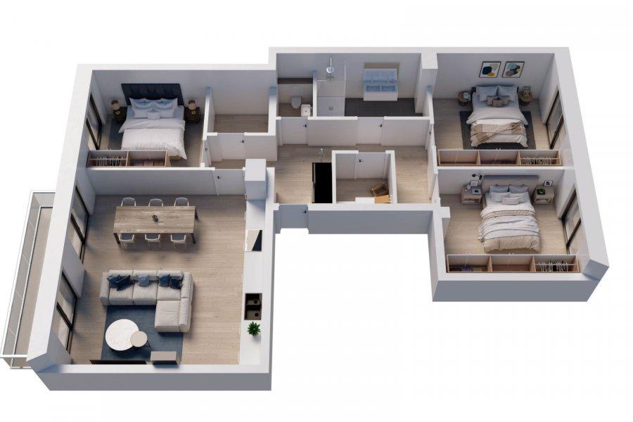 acheter appartement 3 chambres 110 m² wemperhardt photo 1