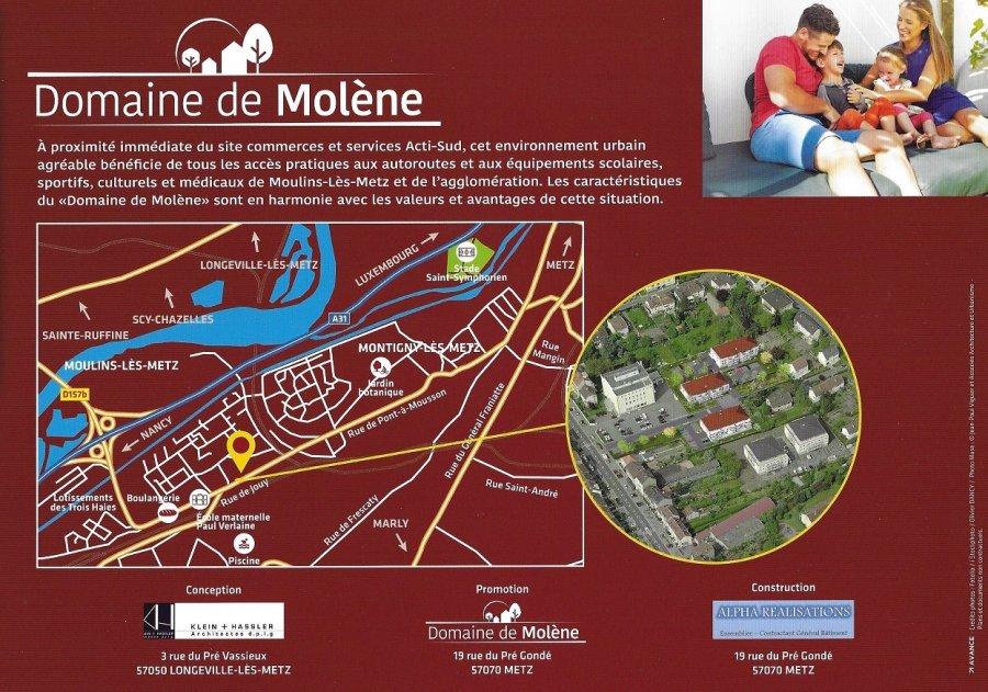 Penthouse à vendre F5 à Moulins-lès-Metz