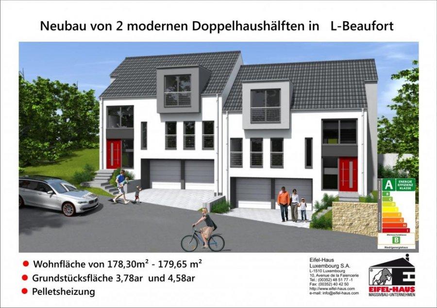 acheter maison jumelée 3 chambres 178 m² beaufort photo 1