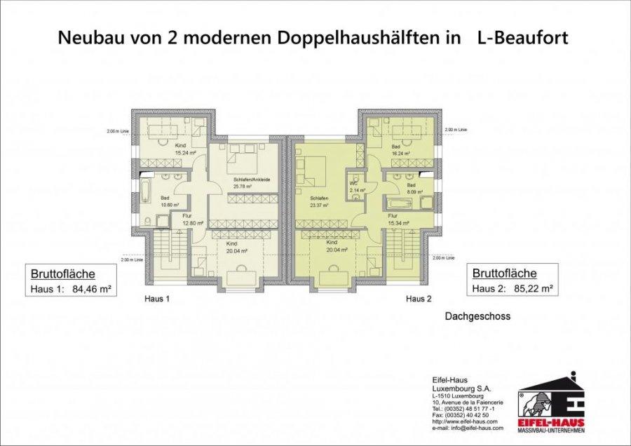 acheter maison jumelée 3 chambres 178 m² beaufort photo 4