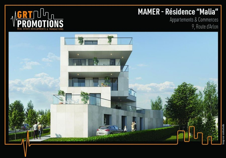 acheter appartement 1 chambre 61.63 m² mamer photo 2