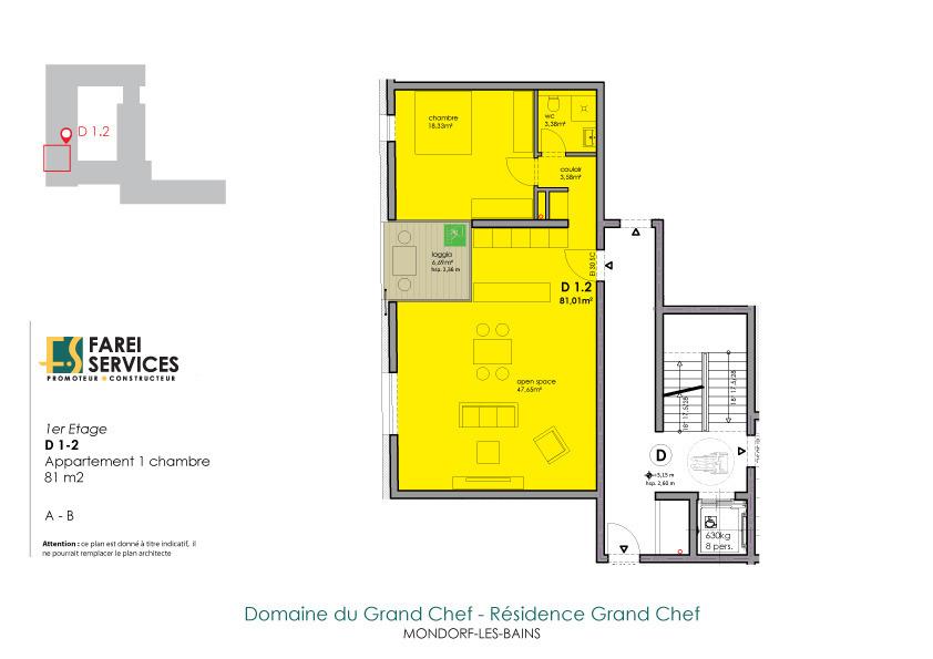 apartment for buy 1 bedroom 81 m² mondorf-les-bains photo 2