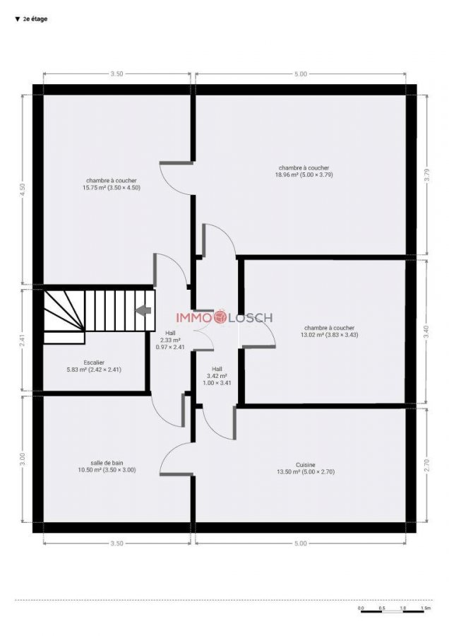 Immeuble de rapport à vendre 9 chambres à Dudelange