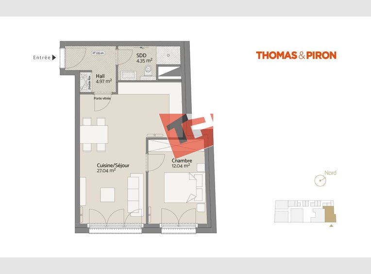 Apartment for sale 1 bedroom in Luxembourg (LU) - Ref. 7109050