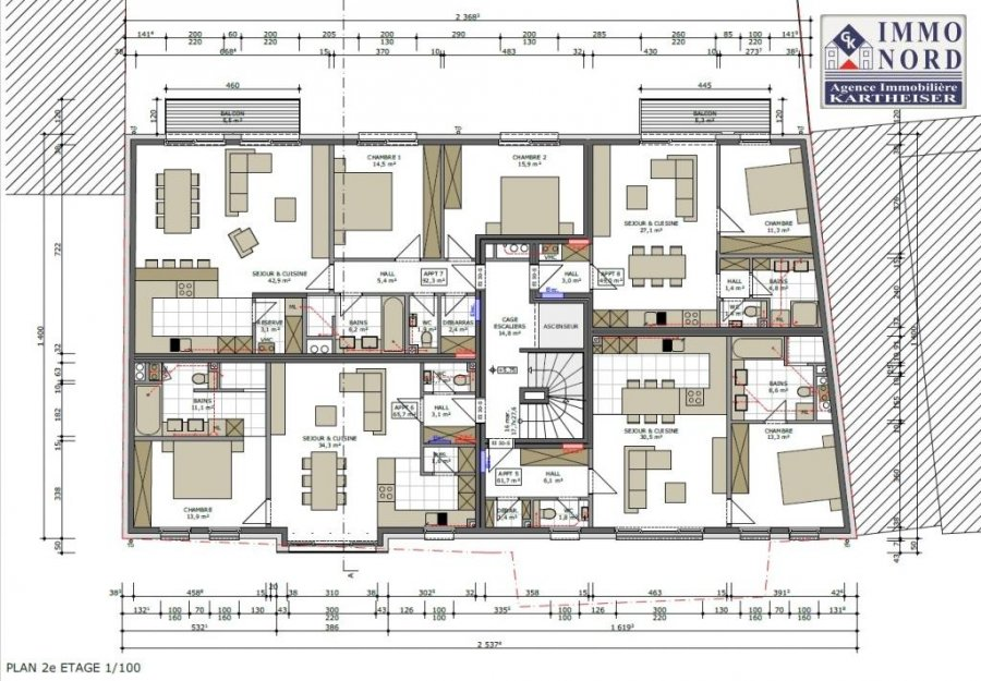 acheter résidence 0 chambre 0 m² clervaux photo 7