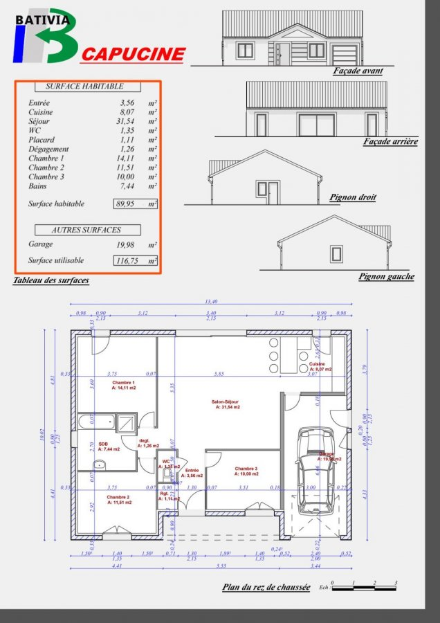 acheter maison individuelle 5 pièces 90 m² chambley-bussières photo 4
