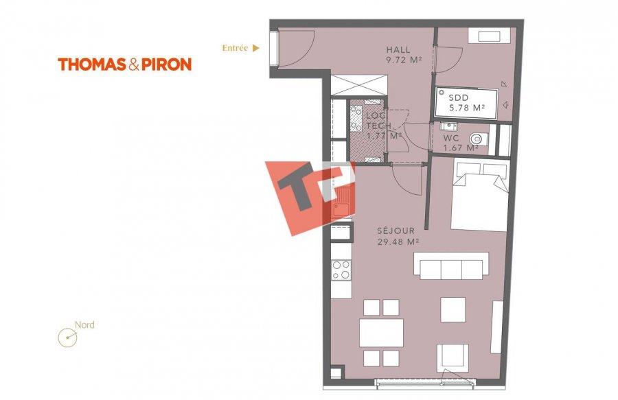 acheter studio 0 chambre 49.87 m² luxembourg photo 1