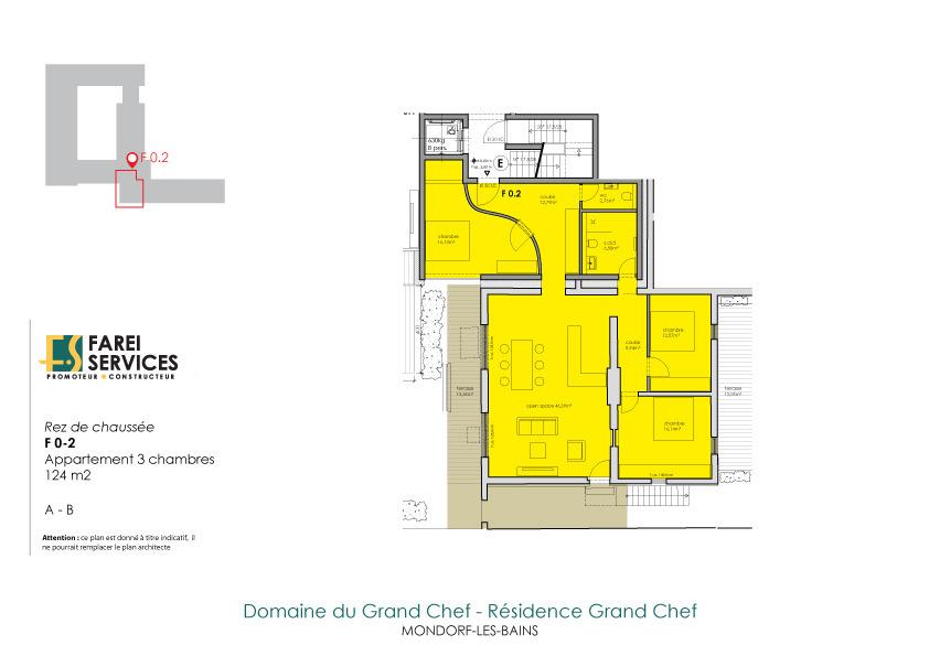 apartment for buy 3 bedrooms 124 m² mondorf-les-bains photo 2