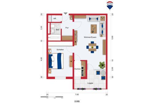 wohnung kaufen 2 zimmer 58 m² saarbrücken foto 3