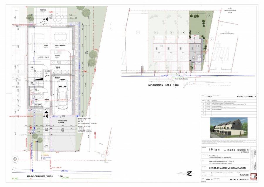 acheter maison individuelle 3 chambres 181 m² beringen (mersch) photo 5