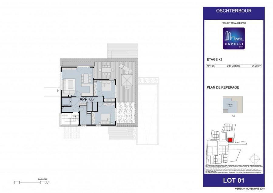 acheter appartement 2 chambres 91.7 m² differdange photo 7