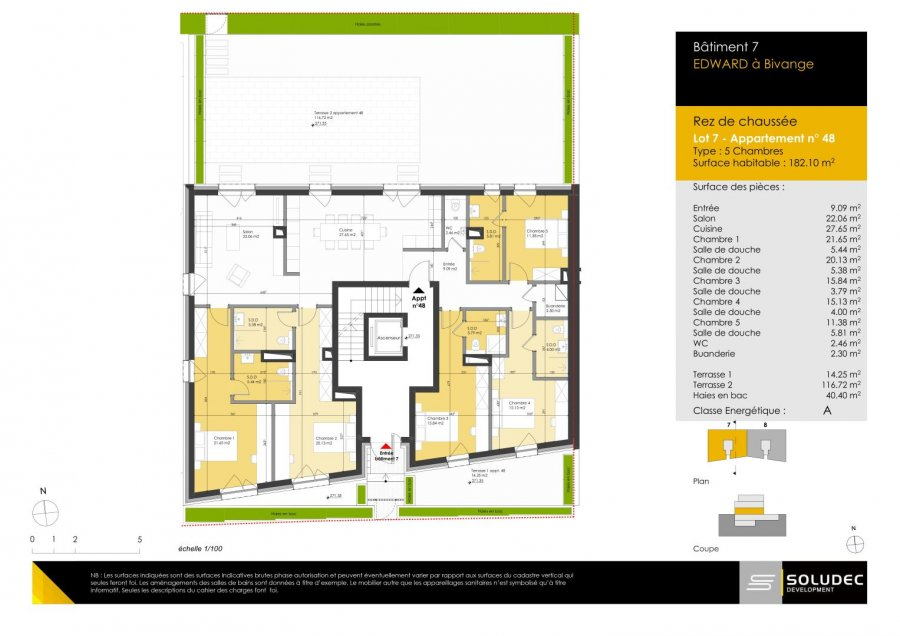 acheter appartement 5 chambres 183.62 m² berchem photo 1
