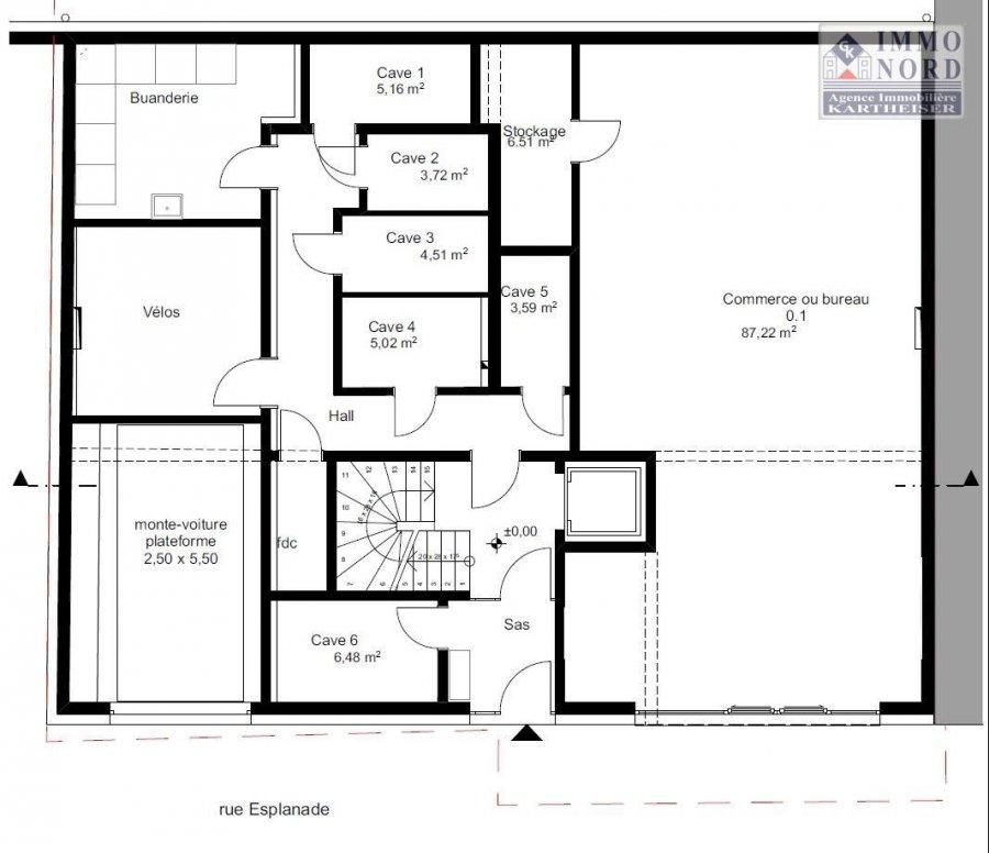 acheter bureau 0 chambre 93.73 m² diekirch photo 3