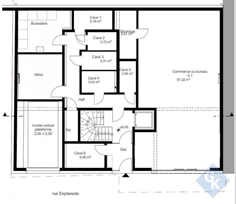 büro kaufen 0 schlafzimmer 93.73 m² diekirch foto 3
