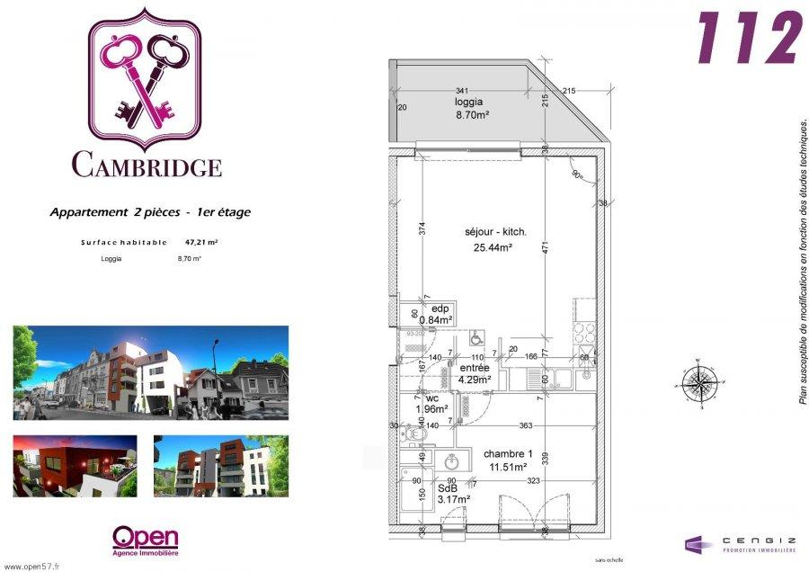 acheter programme neuf 0 pièce 46.42 à 51 m² thionville photo 6