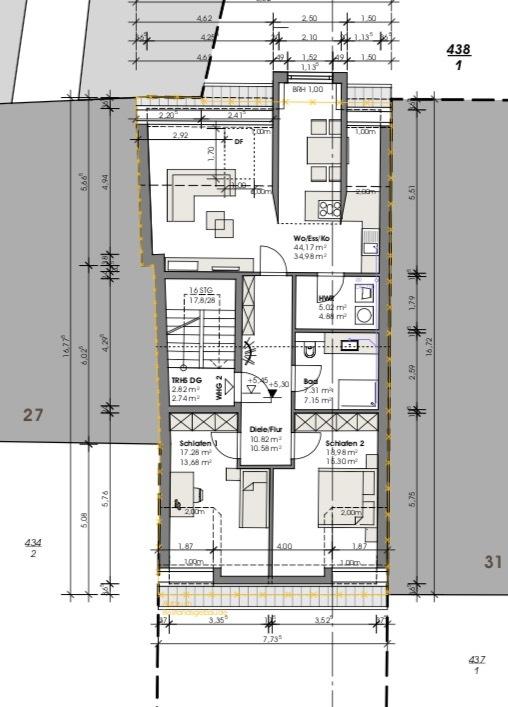wohnung kaufen 3 zimmer 90 m² perl foto 2