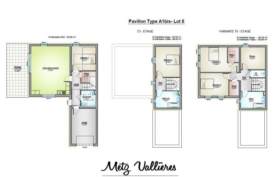acheter maison 5 pièces 125.85 m² metz photo 3