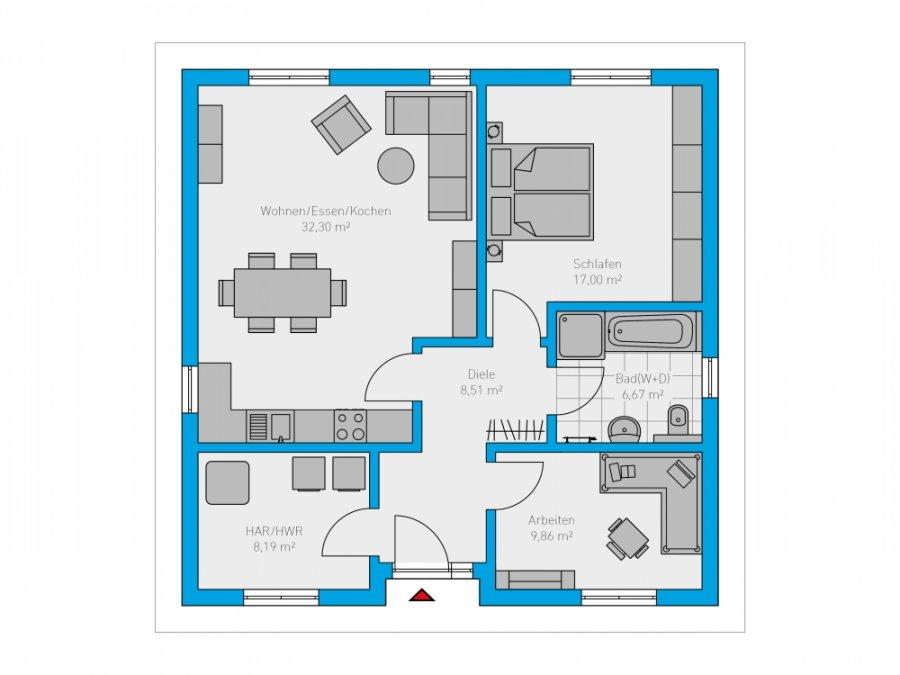 haus kaufen 3 zimmer 83 m² perl foto 2