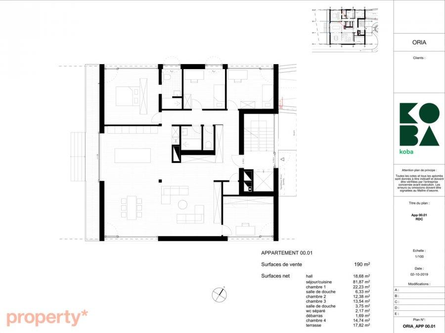 acheter appartement 4 chambres 190 m² bascharage photo 7