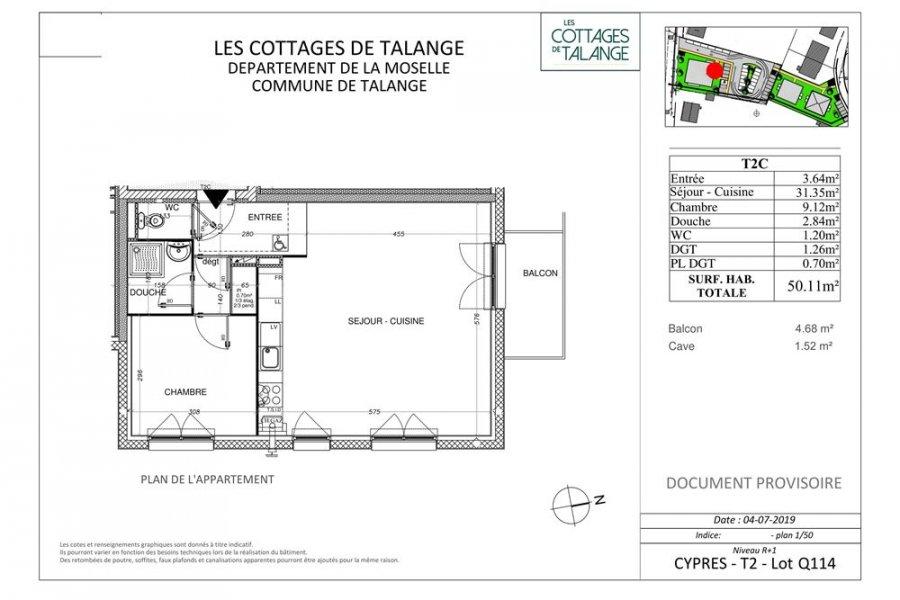 acheter appartement 2 pièces 50 m² talange photo 4