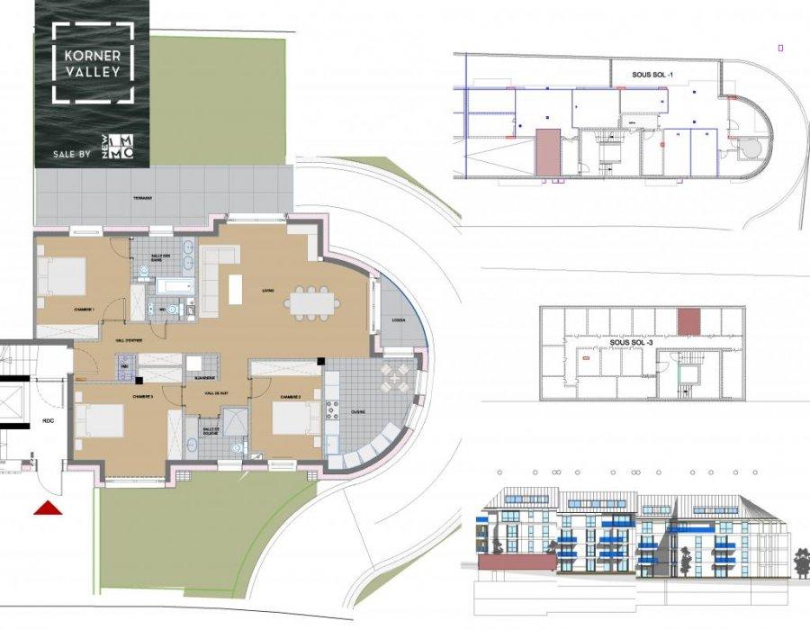 wohnung kaufen 3 schlafzimmer 122.64 m² luxembourg foto 4