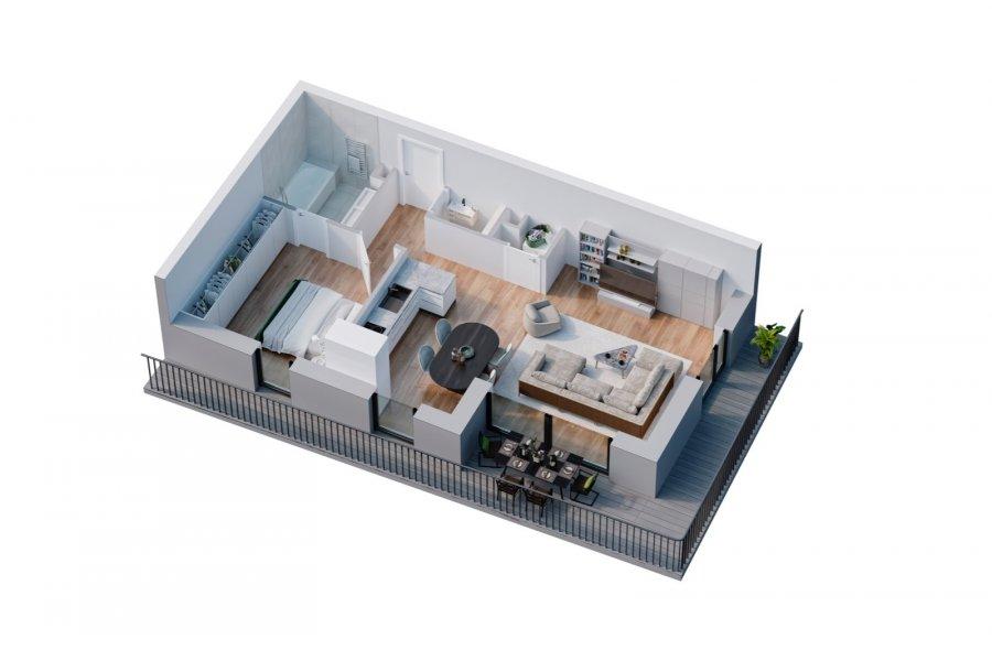 wohnung kaufen 1 schlafzimmer 59.15 m² belval foto 3
