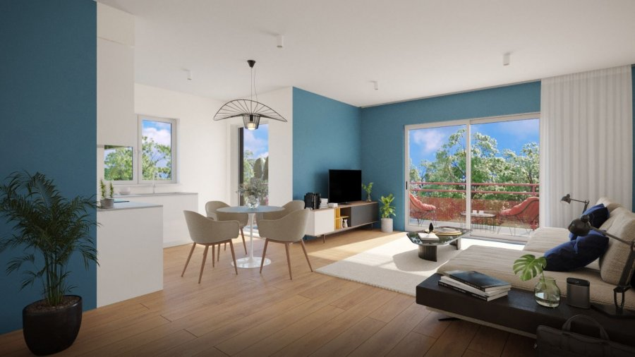 acheter appartement 3 pièces 66.64 m² aumetz photo 1