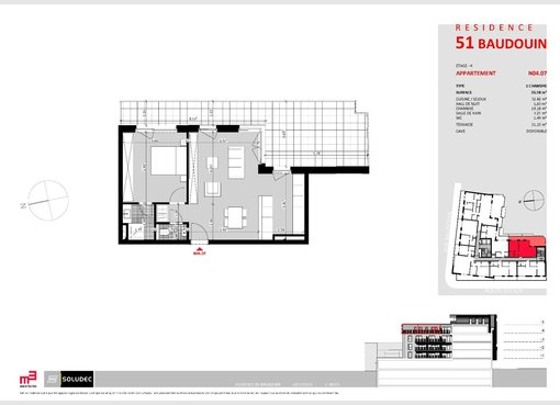 Apartment for sale 1 bedroom in Luxembourg (LU) - Ref. 6722298