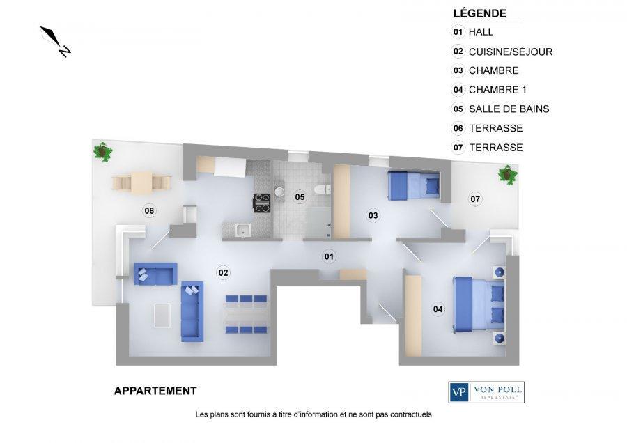 Wohnung Kaufen 2 Schlafzimmer 73 M² Dudelange Foto 4