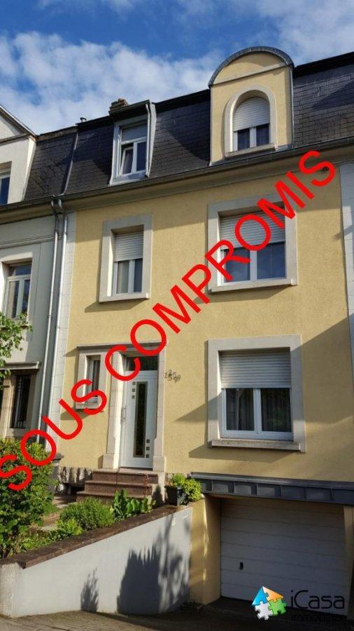 Maison individuelle à vendre 6 chambres à Luxembourg-Merl