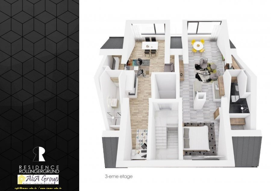 apartment for buy 1 bedroom 59.31 m² luxembourg photo 7